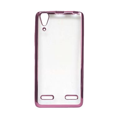 OEM Ultrathin Iphoria Shining Casing for Lenovo A7000 - Rose Gold