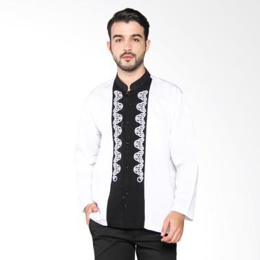 Batik Adikusuma Men Dobby Baju Koko Pria - Putih 772004017