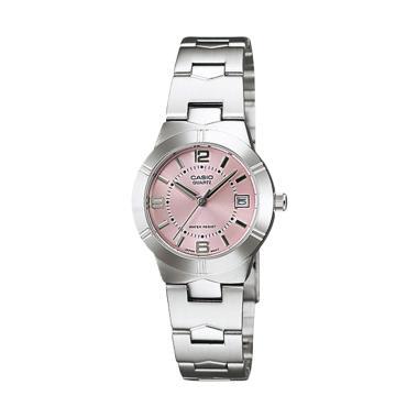 casio_casio-standard-original-ltp-1241d-4a-jam-tangan-wanita---abu-abu-pink_full02 10 Harga Jam Tangan Casio Wanita Original Termurah bulan ini