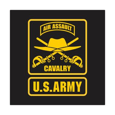 Kyle US Army Air Assault Cavalry Hat Sword Cutting Sticker