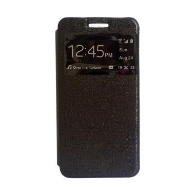MyUser Flip Cover Casing for Xiaomi Redmi Note 3 - Hitam