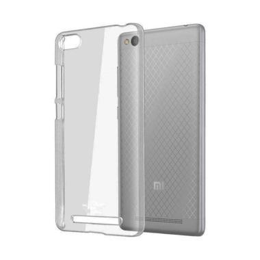 OEM Ultrathin Jelly Softcase Casing for Xiaomi Redmi 3 - Grey