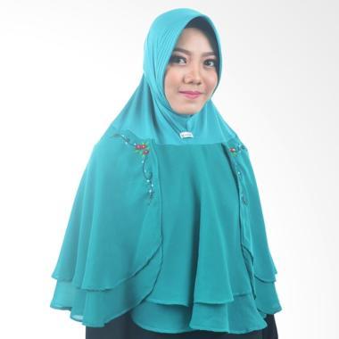 Atteena Hijab Alifa Rafiqah Medium Jilbab Instant - Tosca