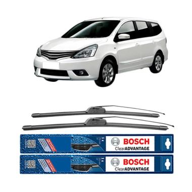 harga Bosch New Clear Advantage Frameless Wiper for Nissan Livina L10 [24 dan 14 Inch] Blibli.com