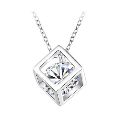 Bella & Co Necklace LKNSPCN750 Aksesoris Kalung Lapis Silver