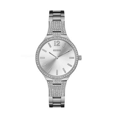 GUESS W0900L1 Jam Tangan Wanita - Silver