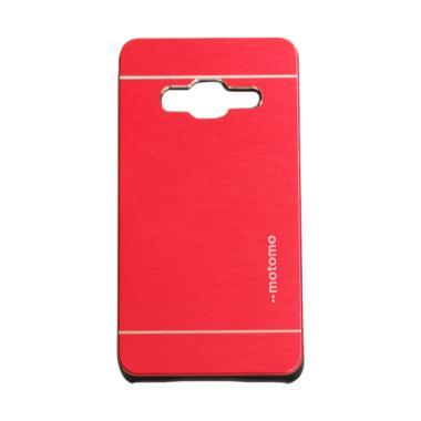Motomo Hardcase Backcase Casing for Samsung Galaxy Z2 - Red
