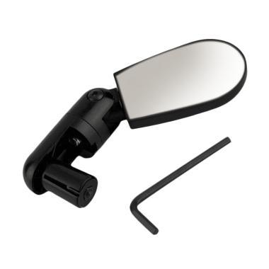 harga OEM Mini Rotate Flexible Handlebar Mirror Kaca Spion Sepeda - Hitam Blibli.com