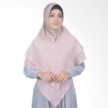 Atteena Hijab Alifa Balqis Basic Jilbab Instant - Mocca Muda