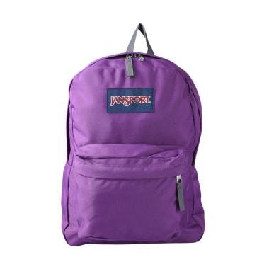 Jansport LBJST5012C8 Superbreak Backpack - Vivid Purple