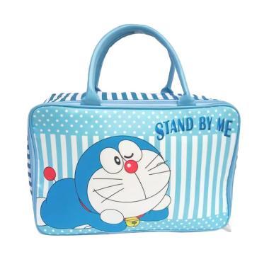 JCF Shop Kanvas Kotak Premium Doraemon Tas Travel Anak