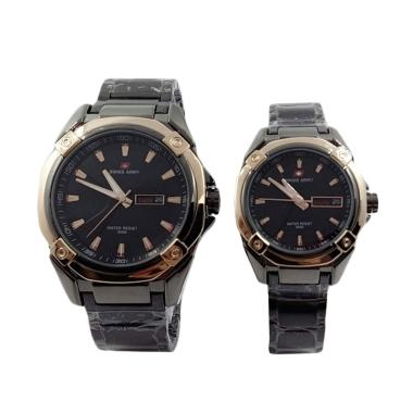 Swiss Army SA 6767 Jam Tangan Couple - Rose Gold