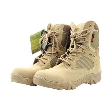 Delta Combat Taktis Militer Seal Team Six Sepatu Pria - Sand