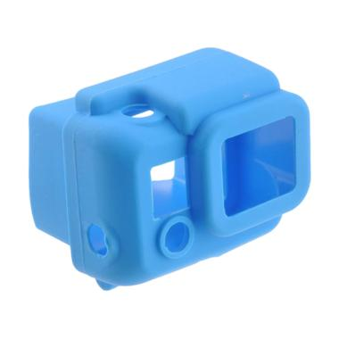 Mine Case Silicone Softcase Casing for Gopro HD Hero 3 - Blue