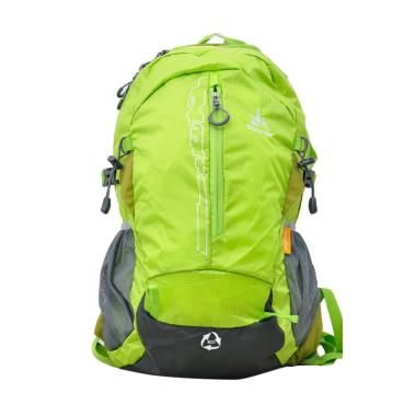 One Polar 9656 Tas Ransel Laptop Hiking + Rain Cover - Green