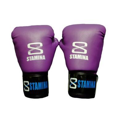 Stamina Ultimate Boxing Gloves - Purple [12 Oz]