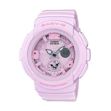 Casio Baby-G BGA-190BC-4B Beach Tra ... angan Wanita - Pink Matte