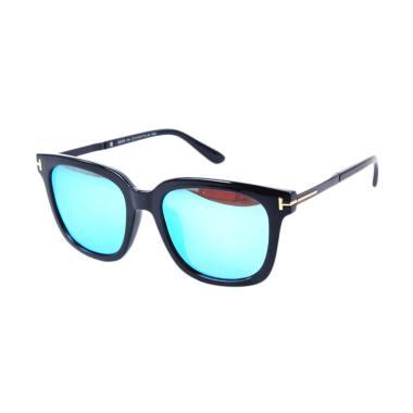 Vtech Polarized Lens for Unisex 8009 Sunglasses - Black Blue