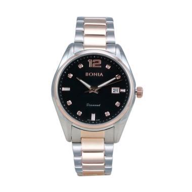 Bonia BN10186-1635 Jam Tangan Pria - Silver Rose Gold