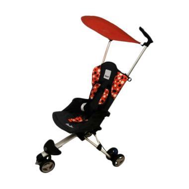 Cocolatte Isport Stroller Traveling - Orange Polka