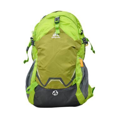 One Polar 9659 Laptop Tas Ransel Hiking + Rain Cover - Green
