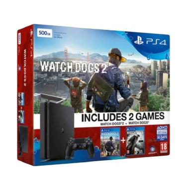 Sony PlayStation 4 CUH-2016A Watch Dogs Bundle Game Console [500GB]