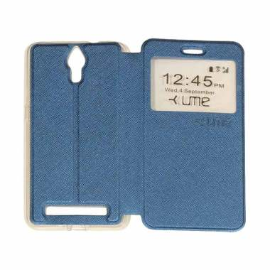 Ume Flipshell Flip Cover Casing for ... lus / Roar+ / E570 - Navy