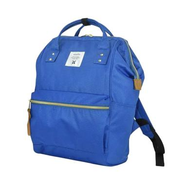 Anello AT-B0193A Polyester Large Backpack Tas Ransel - Light Blue
