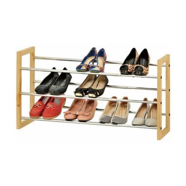 JYSK Shoe Rack Extendable Eriksen R ...  Metal [120 x 21 x 45 cm]
