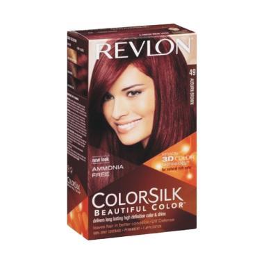 Revlon Colorsilk Beautiful 49 Cat Rambut - Auburn Brown
