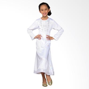 Versail Kids Juenes Pr 1035 Gamis G ... im Anak Perempuan - White