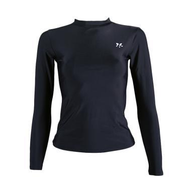 Lasona BRP-C002-L4 Baju Atasan Panjang Renang Diving Wanita - Hitam