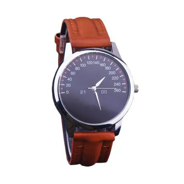 Ormano Speedmeter Casual Watch Jam Tangan Unisex - Coklat