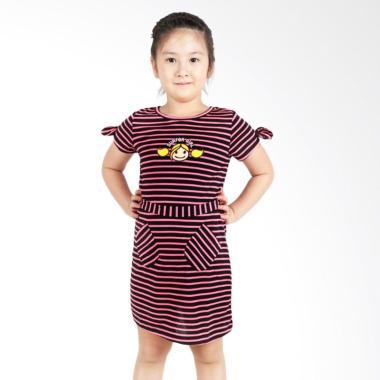 Surfer Girl Junior 7ROSY Dress Anak - Black