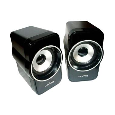 Advance M180BT Bluetooth Speaker - Hitam [Subwoofer System] ID1002836