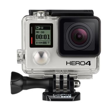 GoPro Paket Super Lengkap Hero 4 Edition Action Camera - Black
