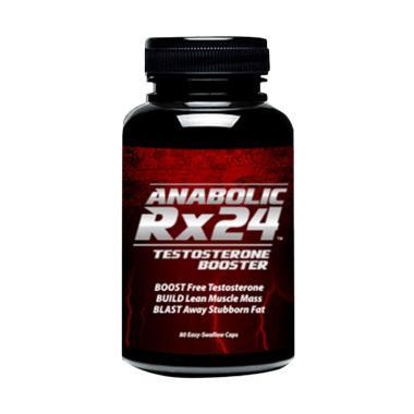 Herbal Hormon Testoteron Anabolic Rx24 USA Suplemen Vitalitas Pria