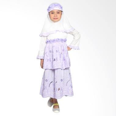 Pretty Girl 2Passion Dress Muslim Anak - Purple