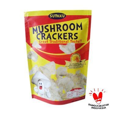 Supaku Mushroom Crcakers Jamur Tiram Pedas Kerupuk