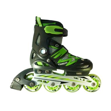 Cougar W/ABEC7 MS835L ADJ.Junior In ...  Black Green [Size 34-37]