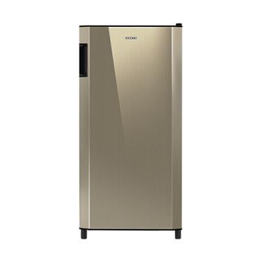 Sanken SK-V181CB Refrigerator - Champagne Black [VCM Door/1 Door/180 L]