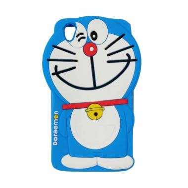 Silicon 3D Kartun Doraemon Softcase Casing for Oppo A37 Neo 9