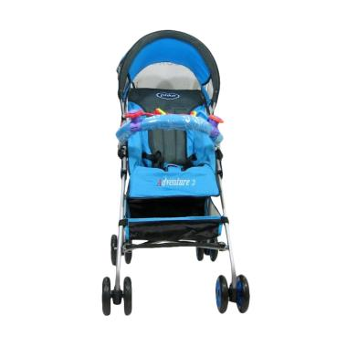 Weekend Deal - Pliko Buggy Adventur ... Kereta Dorong Bayi - Blue
