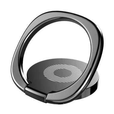 Baseus Dekstop Bracket Ring Holder for Smartphone - Hitam