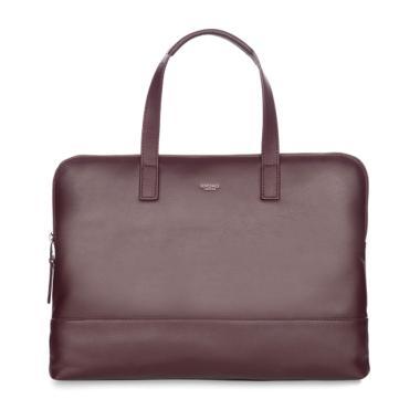 harga KNOMO 20-102-Esp Reeves Slim Leather Briefcase Espresso Tas Laptop [14 Inch] Blibli.com