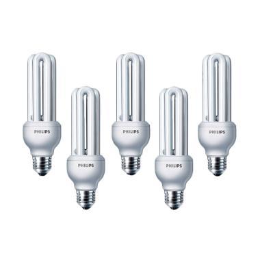 PHILIPS Essential Lampu Hemat Energi - Putih [18 Watt/5 Pcs]