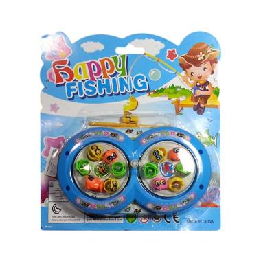 Toys Empire  set 378 Fishing Game Mainan Pancingan - Blue