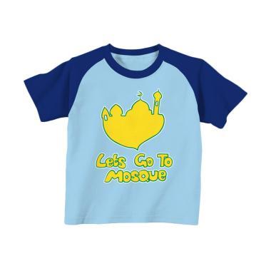 Aitana AiK-16-011 Letsgo Kids Kaos Muslim Anak Laki Laki - Biru Langit