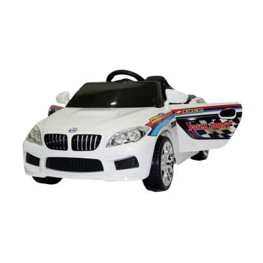 Ocean Toy PMB Mobil Aki M-9188 Beem Racer Ride On Toys - Putih