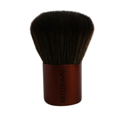 Naked Kabuki Make Up Brush Kuas Make Up Free Wallet